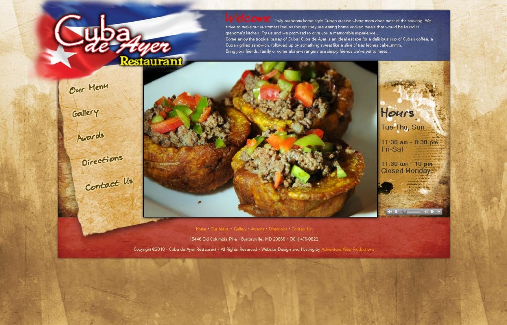 Cuba de Ayer Restaurant_1283536884659