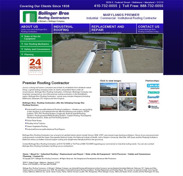 AaAaBollinger Bros Roofing Contractors - a Michael J