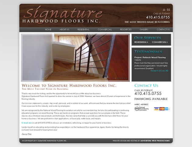Signature Hardwood Floors Inc