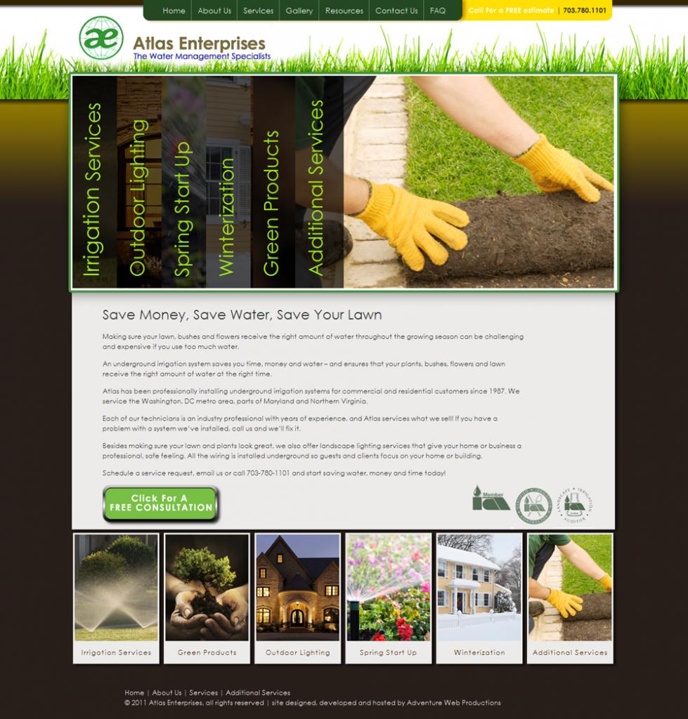 Adventure Web Productions has recently launched Atlas Enterprises' new live site!