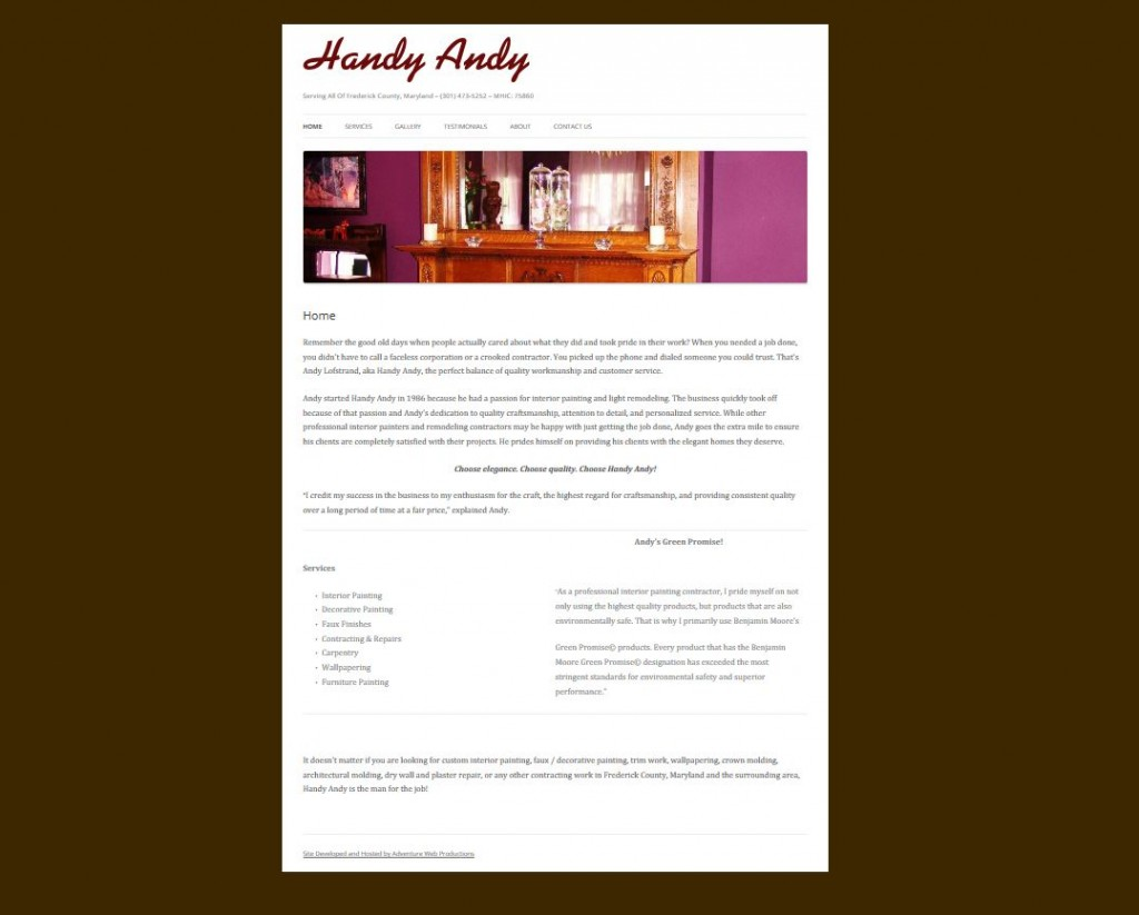 handyandy site
