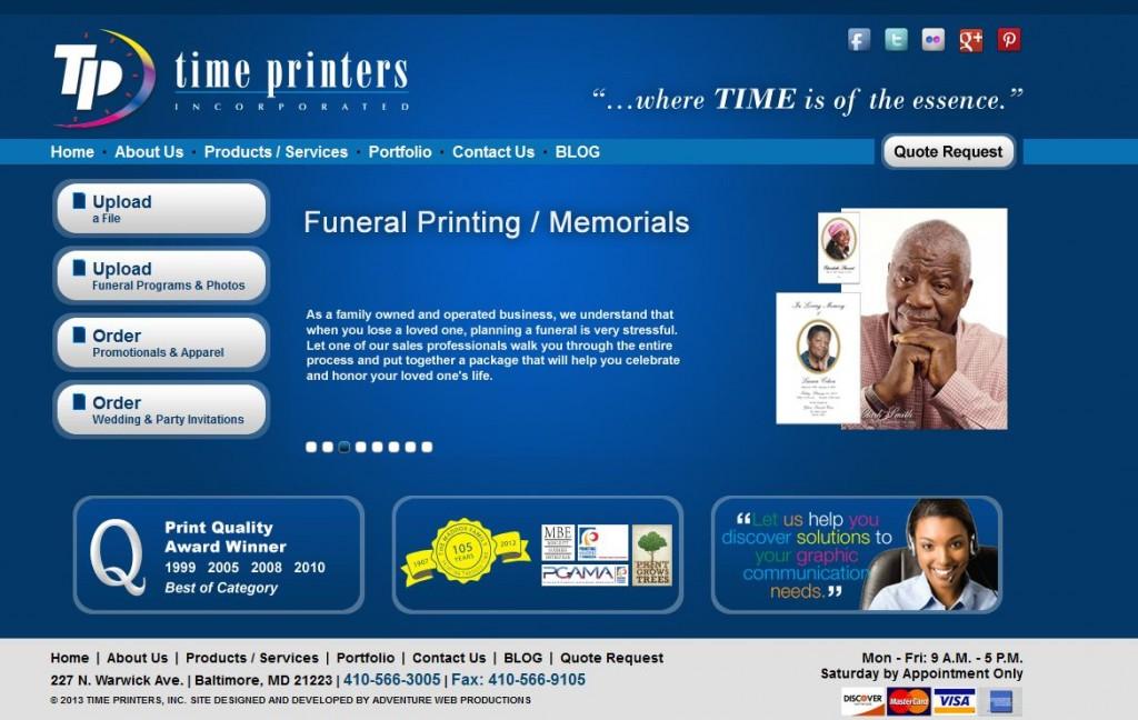 time printers