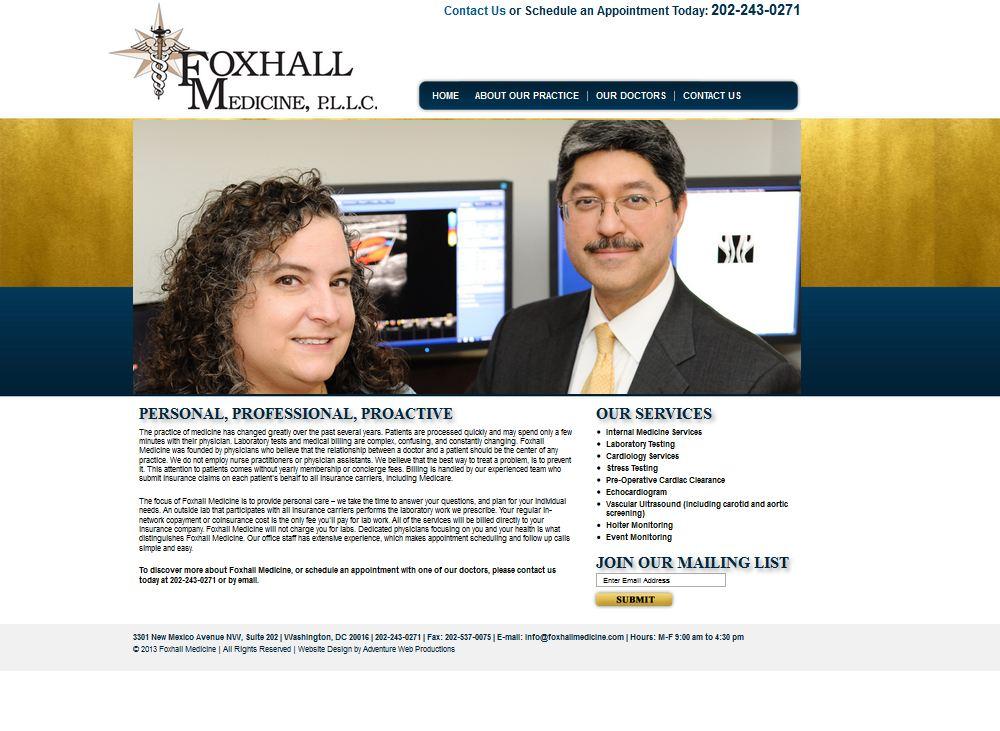Foxhall Medicine