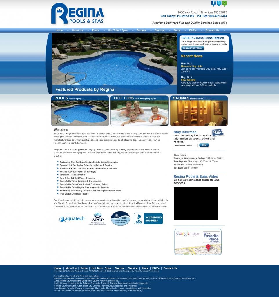 Regina Pools & Spas