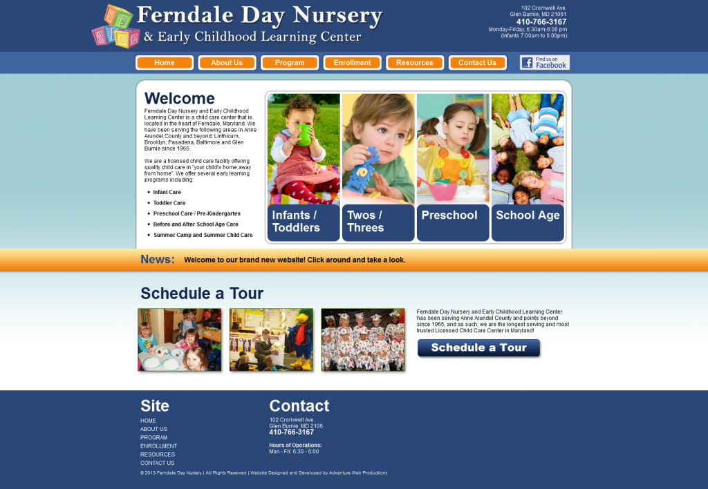 Ferndale Day Nursery & Early Childhood Learning Center